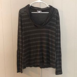 Standard James Peres Cowl Neck Top. Size 2.